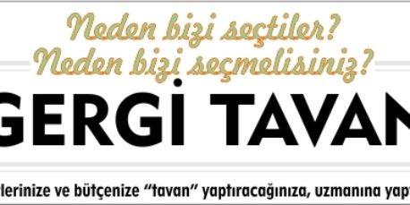 En kaliteli Gergi Tavan