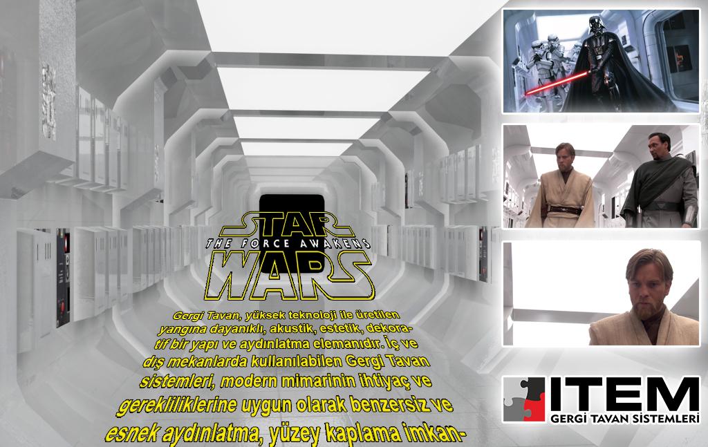 Star Wars Gergi Tavan ürünleri