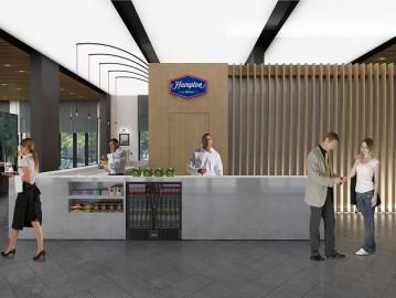 Hampton by Hilton Zeytinburnu Hotel Gergi Tavan ve LED Aydınlatma