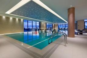 Hilton Batum Hotel Gergi Tavan ve Fiberoptik Aydınlatma