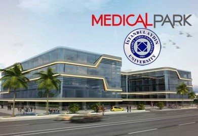 İstanbul Aydın Üniversitesi Medical Park Hastanesi Gergi Tavan Projesi