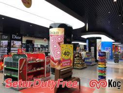 Setur Kapıkule Dutyfree Mağazası Gergi Tavan ve LED Aydınlatma