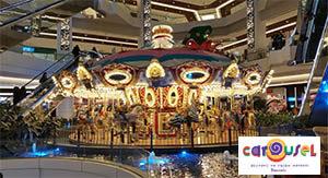 Carousel AVM Gergi Tavan Aydınlatma Uygulamalarımız