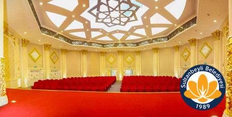 Sultanbeyli Belediyesi Nikah Sarayı Gergi Tavan ve LED Aydınlatma